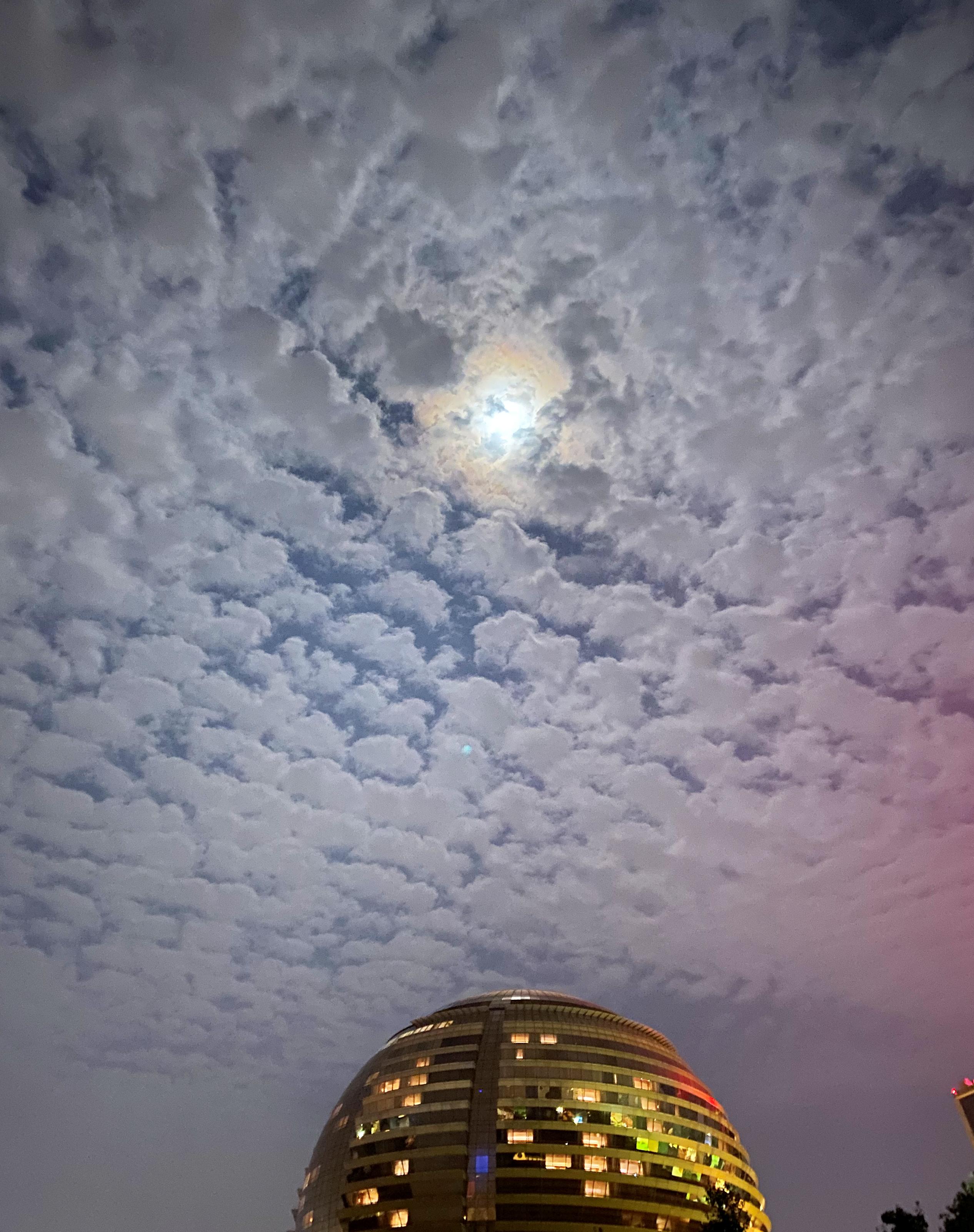 杭州洲际酒店中秋明月夜