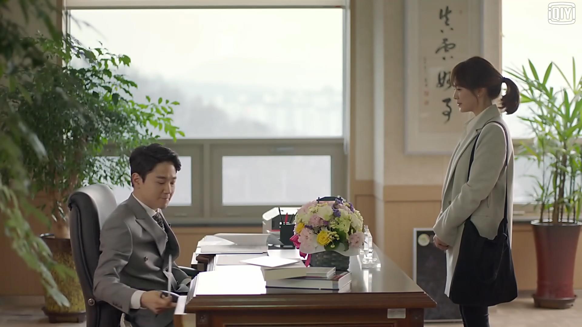 韩剧《太阳的后裔》中悬挂的中国书法字画