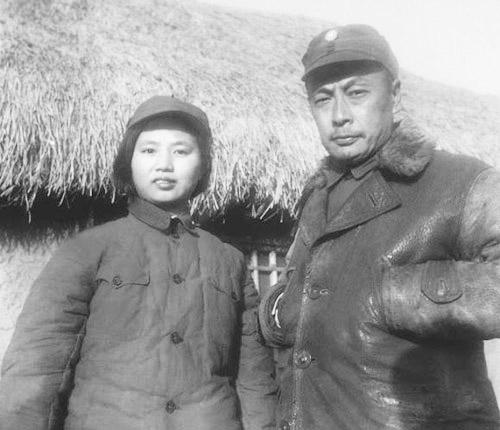 陈毅和妻子张茜