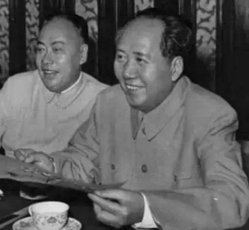 陈毅和毛主席