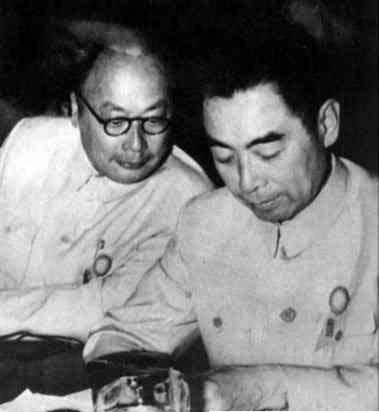 陈毅和周总理