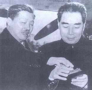 贺龙和周总理