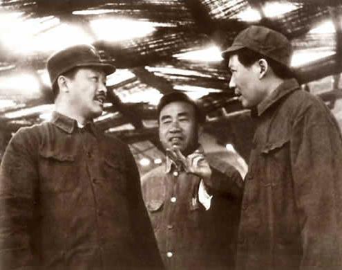 贺龙和毛主席、朱老总
