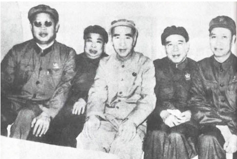 林彪和吴法宪黄永胜李作鹏邱会作