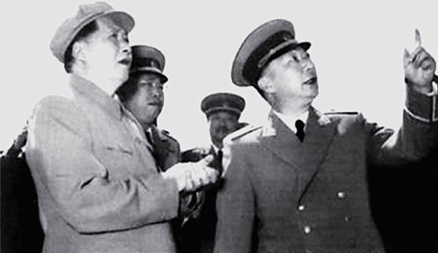 聂荣臻和毛主席