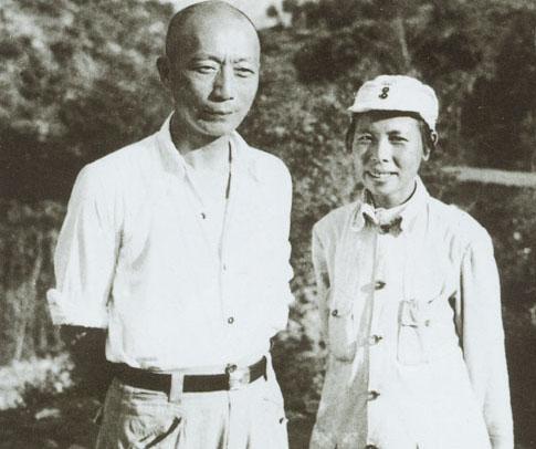 聂荣臻和妻子张瑞华