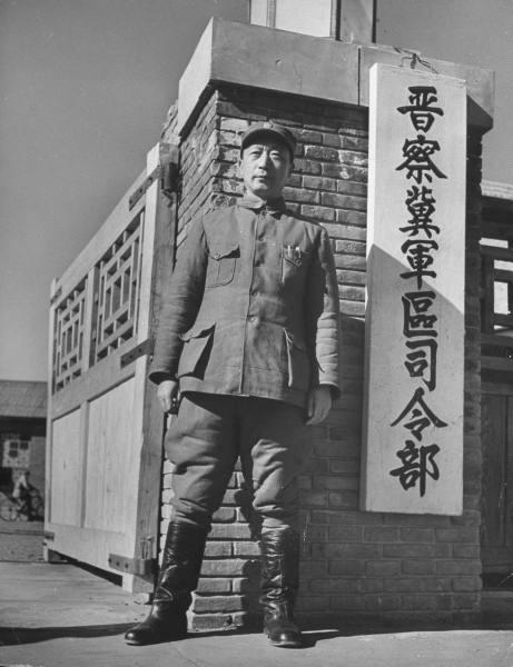 聂老总在华北敌后晋察冀军区司令部