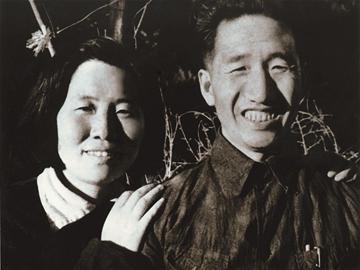 徐向前和妻子黄杰