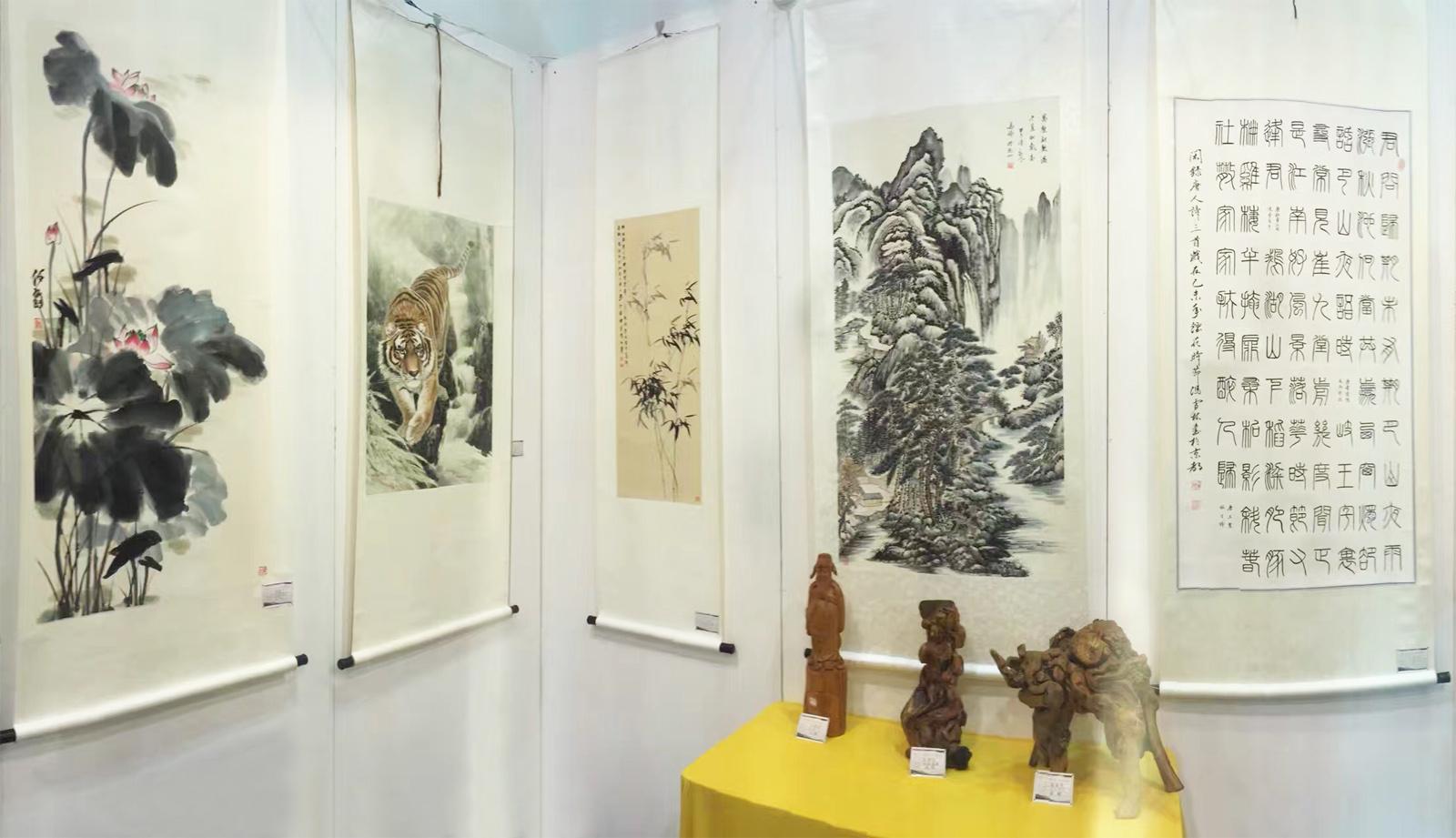 西湖艺术博览会中国当代艺术家作品