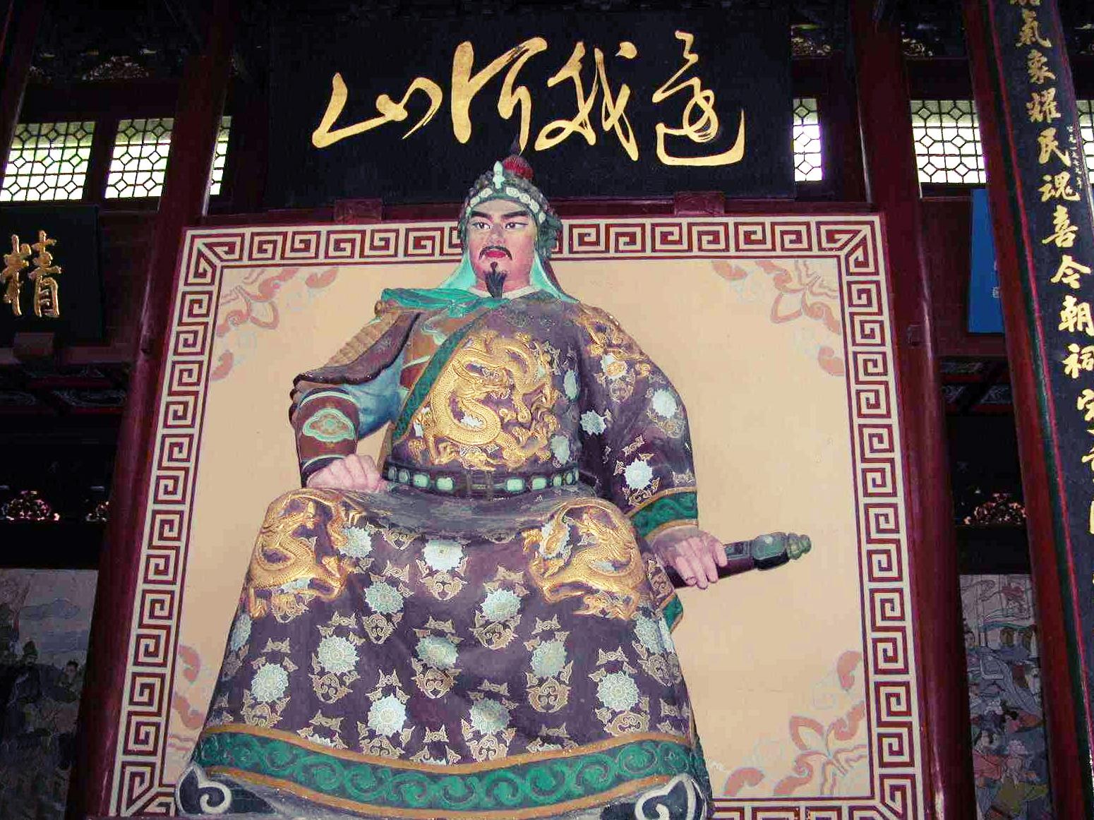杭州岳王庙――精忠岳飞