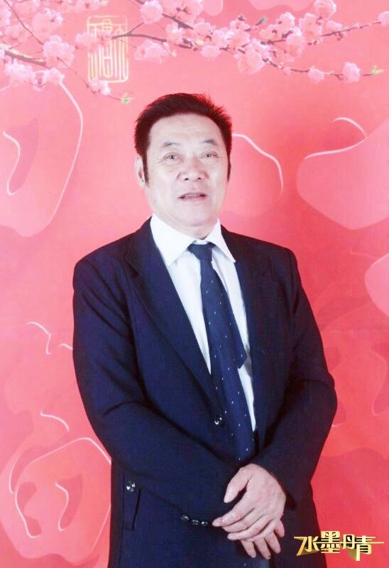 CETV《水墨丹青》《名家讲堂》栏目组签约艺术家冯雪林