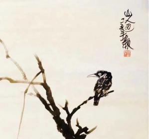 朱祖国中国画艺术作品(著名书画家、指墨画艺术大师)
