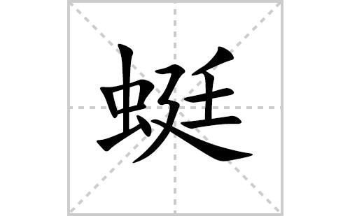 蜓的笔顺笔画怎么写(蜓的笔画、拼音、解释及成语详解)