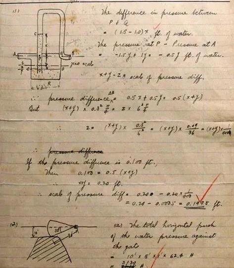 没曾想钱学森的硬笔书法亦惊艳,笔笔稳重,字字精彩,字如其人