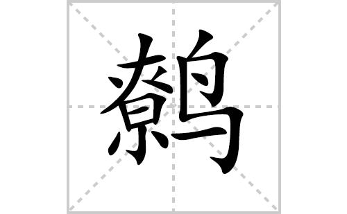 鹩的笔顺笔画怎么写(鹩的拼音、部首、解释及成语解读)