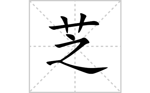芝的笔顺笔画怎么写(芝的拼音、部首、解释及成语解读)