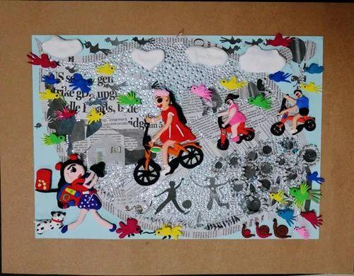 第二十四届全国中小学生绘画书法作品比赛优秀作品欣赏